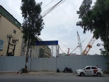 """Thêm một cao ốc được """"nhồi"""" bên đường Nguyễn Tuân"""