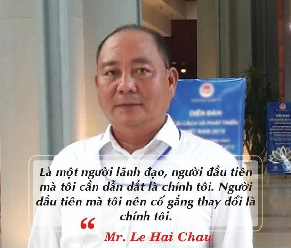 Lê Hải Châu - Người luôn dẫn đầu!