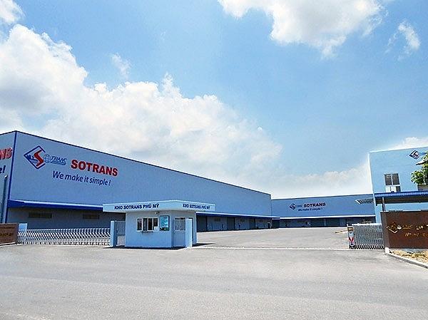 Một kho hàng hóa của Sotrans ở TP.HCM