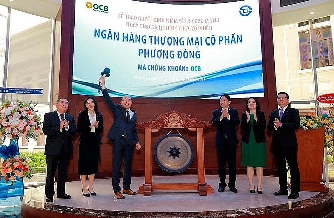 OCB là ngân hàng đầu tiên niêm yết trên HoSE trong năm 2021
