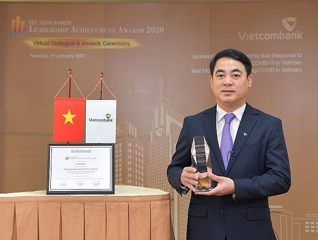 Vietcombank được The Asian Banker trao tặng danh hiệu 'Ngân hàng được quản trị tốt nhất'
