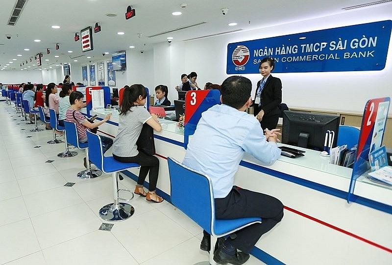 Một hoạt động giao dịch tại Ngân hàng TMCP Sài Gòn