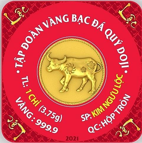 Nhiều sản phẩm vàng độc đáo ra mắt trong ngày vía Thần Tài năm 2021