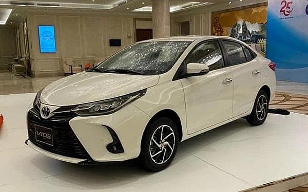 Toyota Vios 2021 ra mắt thị trường Việt Nam ngày 23/2