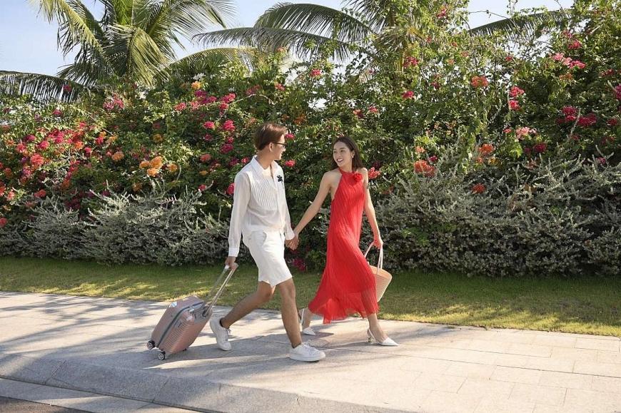 Con đường hoa ra biển Quy Nhơn đẹp như cổ tích (Ảnh: zzocca87 )