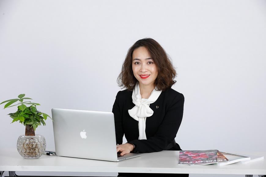 Bà Nguyễn Thị Kim Oanh - Phó TGĐ phụ trách Khối Ngân hàng bán lẻ của Vietcombank