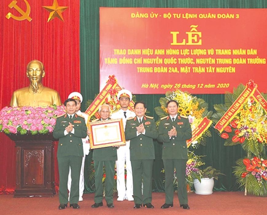 Dấu ấn của tướng quân Nguyễn Quốc Thước
