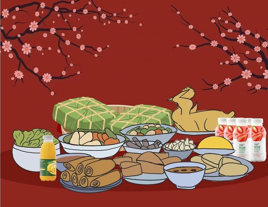 Mâm cơm ngày Tết - không ngày nào vắng bóng thịt gà!!!
