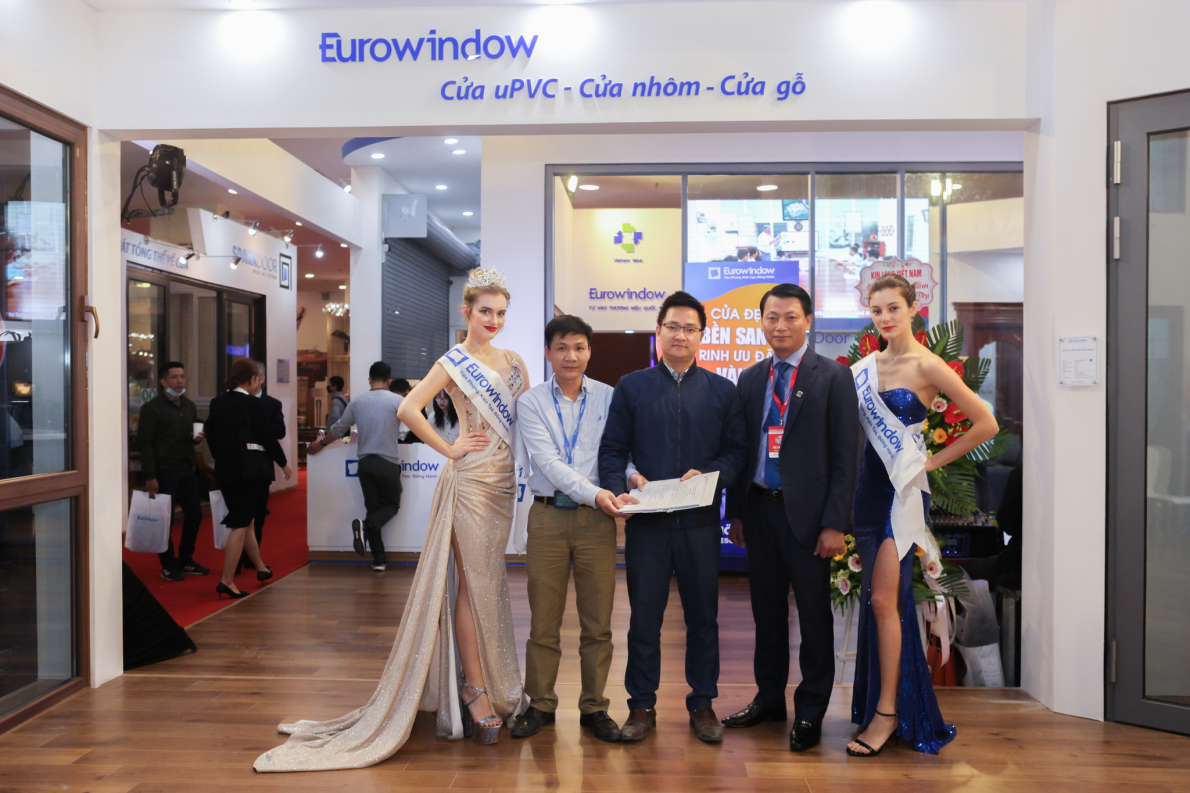 Dấu ấn Eurowindow tại Triển lãm Quốc tế Vietbuild Hà Nội 2021