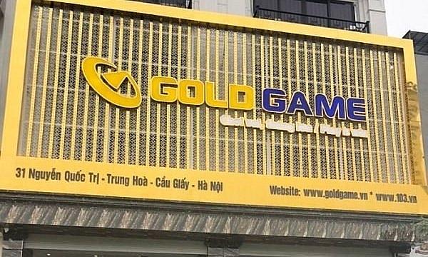 Thu hồi toàn bộ giấy phép trò chơi trực tuyến của Công ty Gold Game Việt Nam