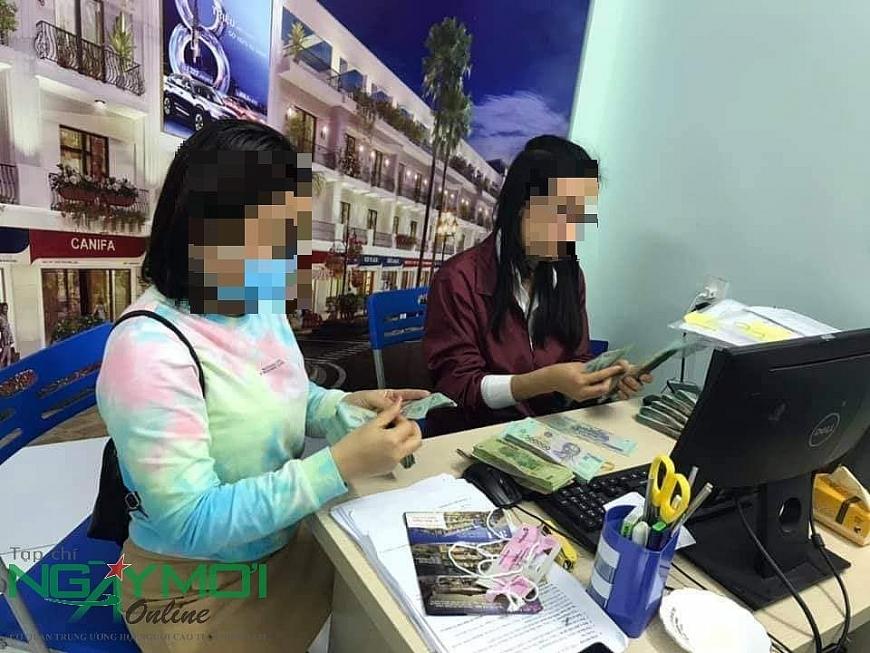 """Công ty Cổ phần Đầu tư Hoa Thiên Phú ngang nhiên bán hàng """"chui"""" tại dự án"""