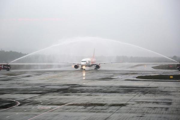 Sân bay Vân Đồn đón những chuyến bay đầu tiên sau khi hoạt động trở lại