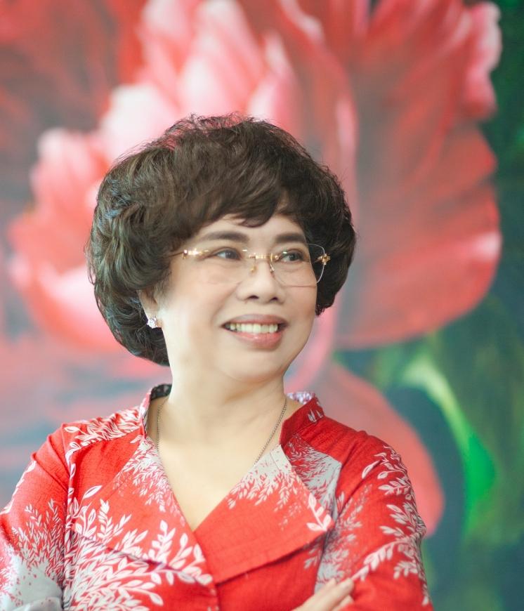 Anh hùng Lao động Thái Hương – Nhà sáng lập Tập đoàn TH