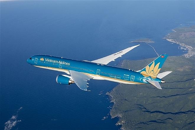 Vietnam Airlines đẩy mạnh kế hoạch bay thường lệ đến Mỹ.