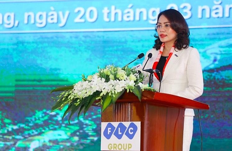 Bà Hương Trần Kiều Dung – Phó Chủ tịch thường trực HĐQT Tập đoàn FLC