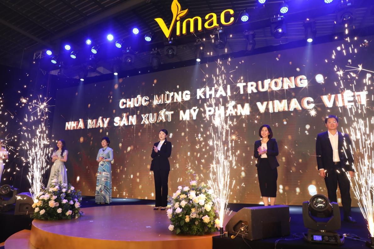 Vimac: Khai trương nhà máy sản xuất mỹ phẩm đạt chuẩn CGMP –ASEAN