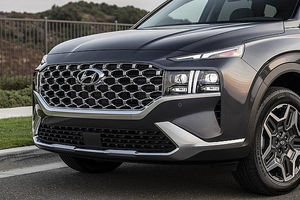 Hyundai Santa Fe 2021 ra mắt