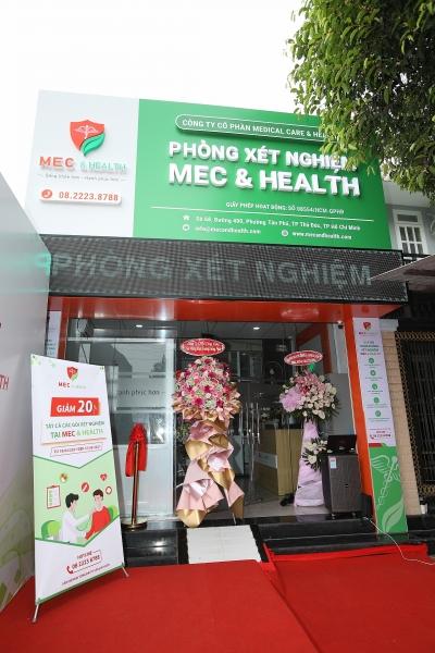 Mec and Health khai trương phòng xét nghiệm đầu tiên