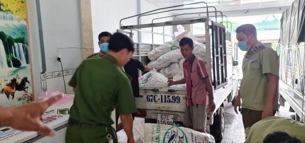 Tạm giữ hơn 3 tấn chả không chứng nhận đủ điều kiện an toàn thực phẩm
