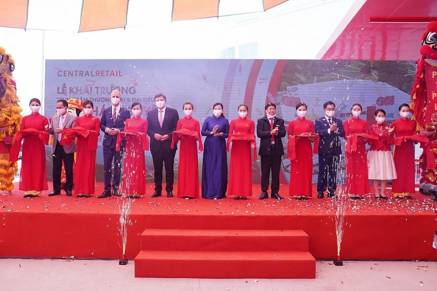 Tập đoàn Central Retail khai trương Trung tâm thương mại và đại siêu thị GO! Thái Nguyên