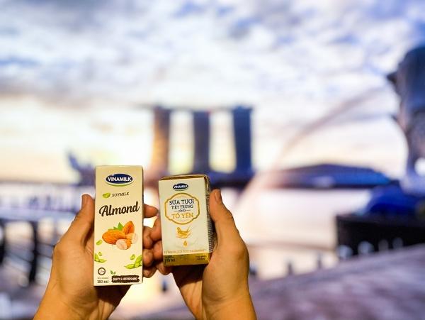 Vinamilk xuất khẩu sữa tươi chứa tổ yến đi Singapore