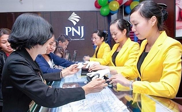 Một hoạt động giao dịch tại PNJ. Ảnh minh họa