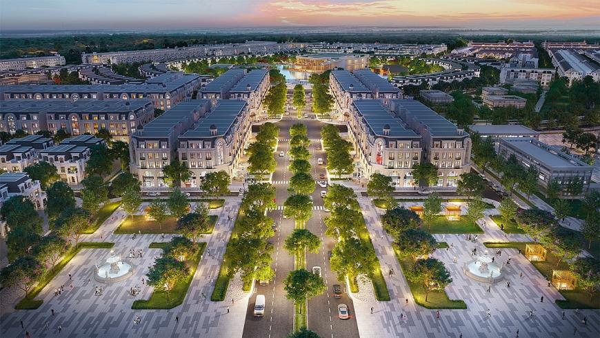 Khu nhà phố thương mại dự án Hinode Royal Park