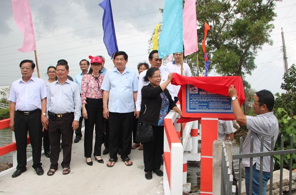 Chương trình xây cầu Đồng Hương nối nhịp quê hương