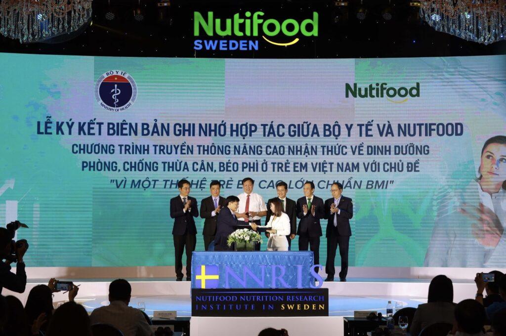 NutiFood ra mắt Viện Nghiên cứu dinh dưỡng NNRIS