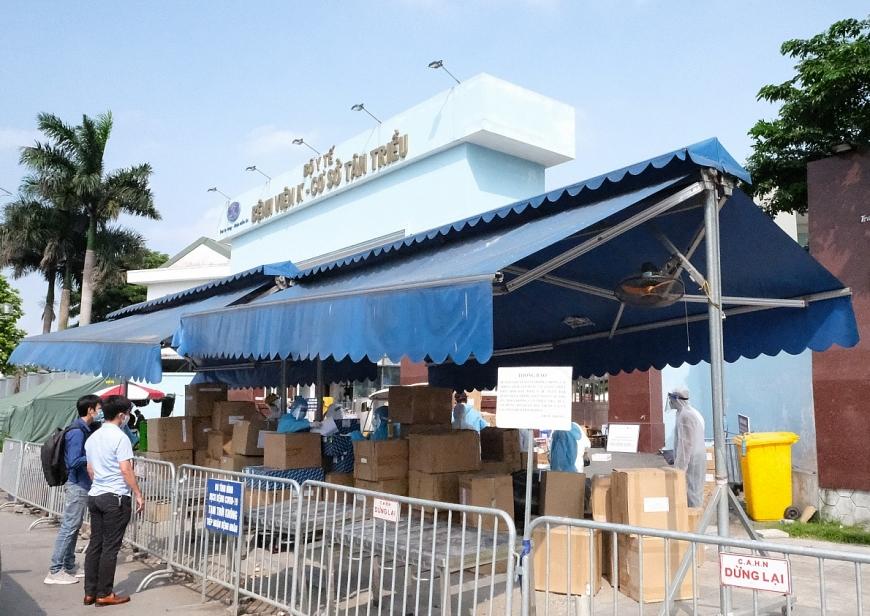 Bệnh viện K Tân Triều cũng đã nhận được nhiều nguồn hỗ trợ từ cộng đồng