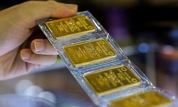 Giá vàng bật tăng mạnh, SJC tiến sát mốc 56 triệu đồng/lượng sáng 29/4