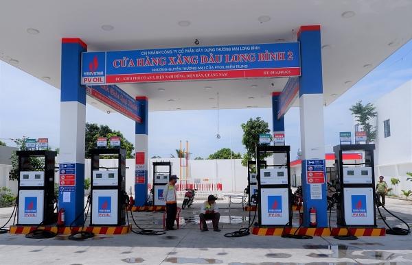 Quảng Nam: Xử phạt một cửa hàng xăng dầu thuộc Công ty CP xây dựng thương mại Long Bình