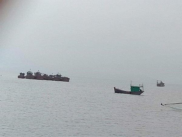 Quảng Ninh: Chính quyền vào cuộc trước nghi vấn Công ty Quan Minh hút cát trái phép