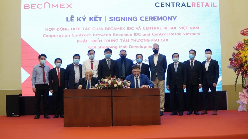 Bình Dương: Becamex IDC hợp tác với Central Retail xây trung tâm thương mại 35 triệu USD