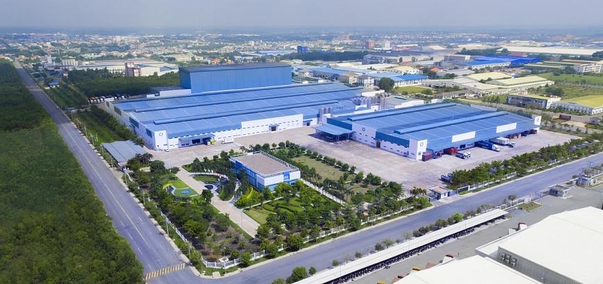 Nhà máy sữa Việt Nam của Vinamilk tại Bình Dương