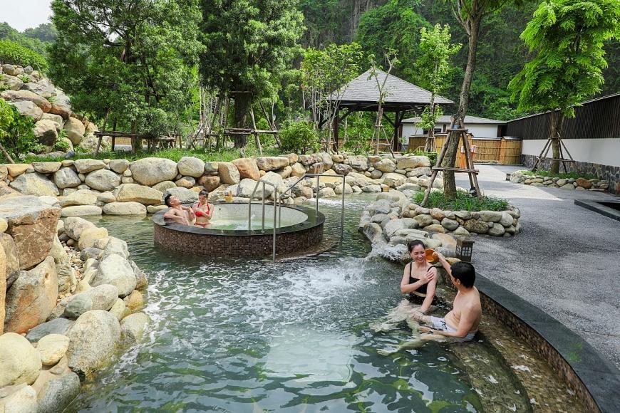 Vì sao suối khoáng nóng Quang Hanh hấp dẫn giới thượng lưu?