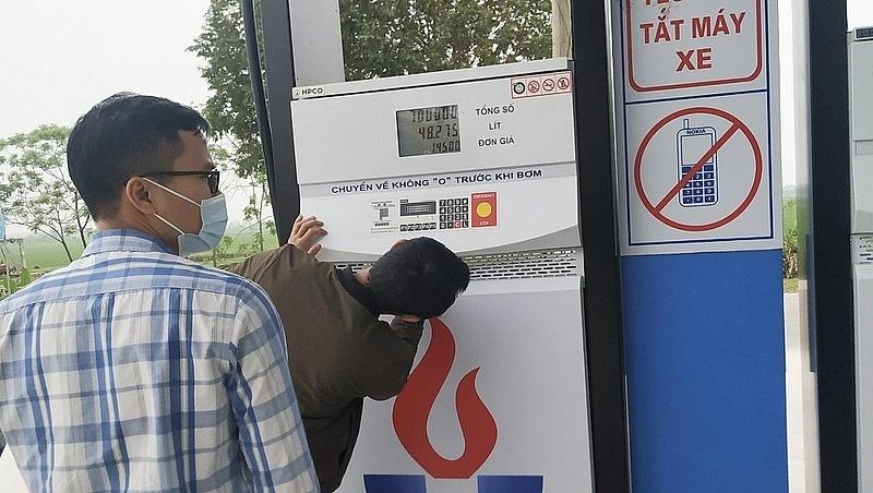 Ninh Bình: Một doanh nghiệp xăng dầu bị phạt gần 400 triệu đồng