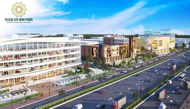 """Hạ tầng """"mở lối"""" thúc đẩy thị trường bất động sản Bình Phước phát triển"""
