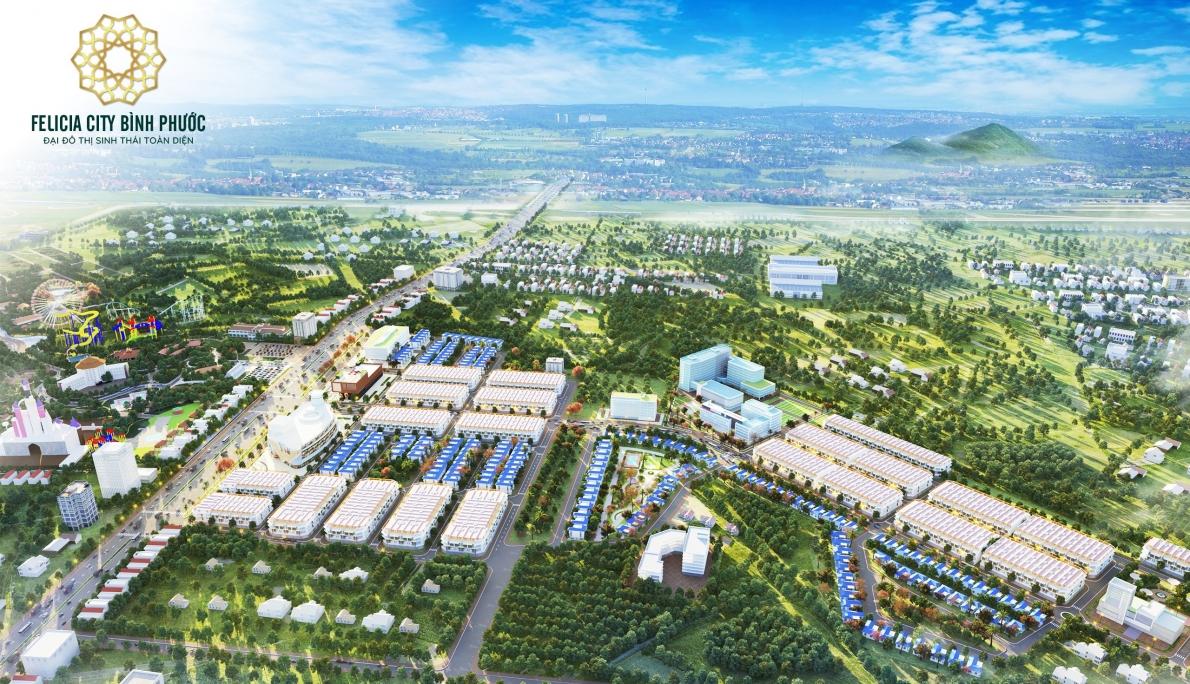 Đại đô thị sinh thái toàn diện Felicia đang là dự án nhận được nhiều kỳ vọng của người dân địa phương và nhà đầu tư