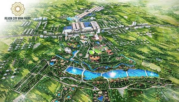 Bình Phước: Giải mã sức hút từ Đại đô thị sinh thái toàn diện Felicia City