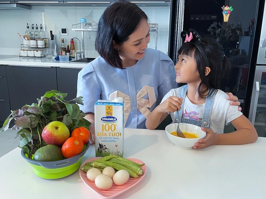 Nguồn dinh dưỡng dồi dào trong sữa tươi Vinamilk 100% hỗ trợ bé tăng cường hệ miễn dịch, nâng cao thể trạng