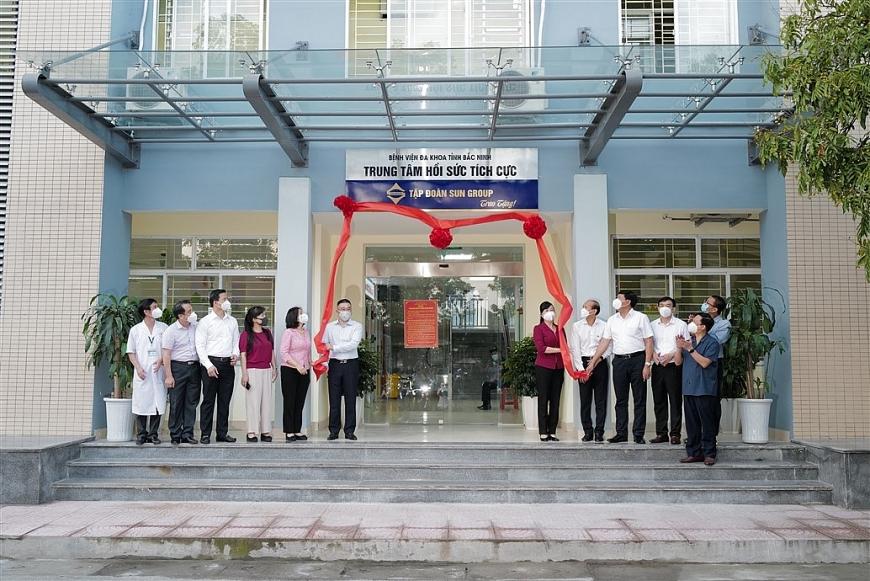 Sự kiện Sun  Group bàn giao Trung tâm ICU cho Bắc Ninh