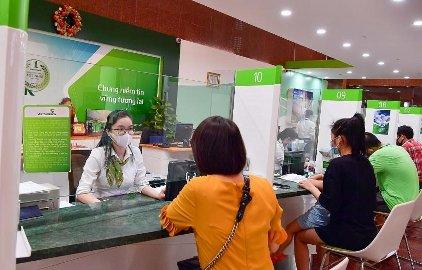 Hoạt động giao dịch tại Vietcombank