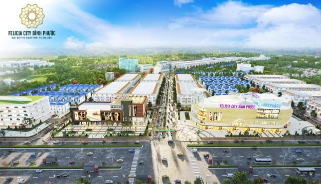 Sức hút tại Felicia City còn nằm ở giá thành chỉ từ 3,5 triệu/m2