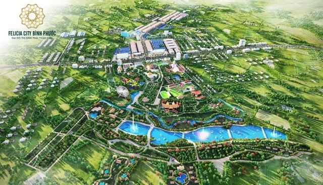 """Felicia City """"phủ xanh"""" từ quy hoạch đến công trình"""