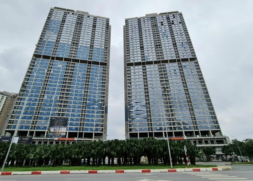 Phòng lánh nạn tại The Matrix One được bố trí các tầng 4, 23 và 43, có diện tích lên tới 242m2/phòng
