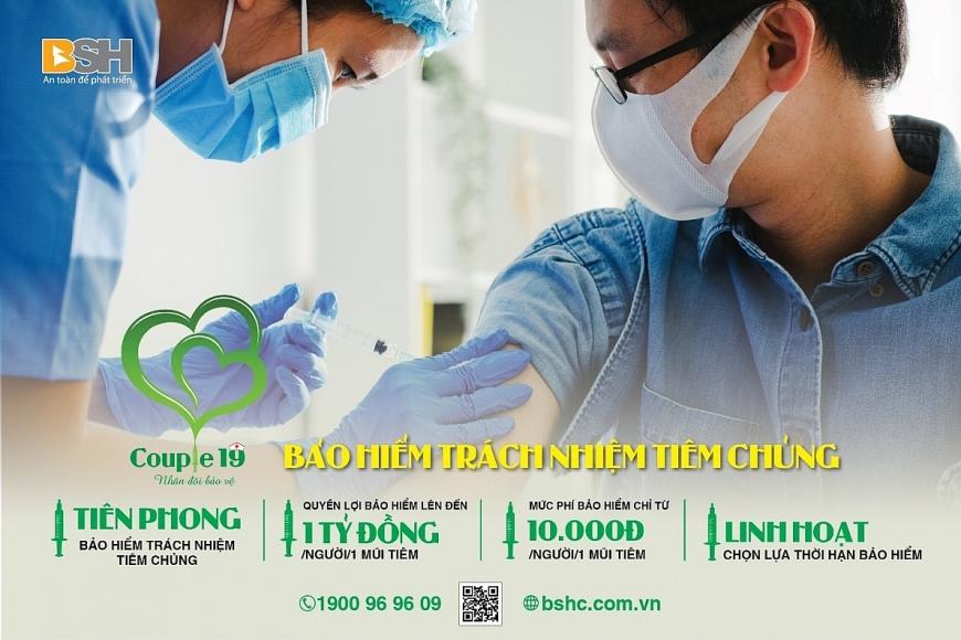 BSH tiên phong ra mắt bảo hiểm tiêm chủng Couple 19