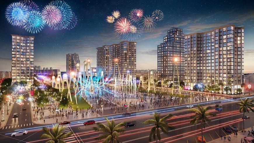 Nền kinh tế đêm tại Sầm Sơn được thắp sáng sẽ mang đến cơ hội kinh doanh lý tưởng cho các BĐS trong đại đô thị Sun Grand Boulevard.