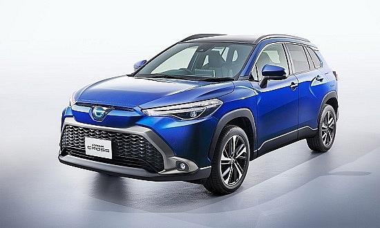 Toyota Corolla Cross phiên bản 2022 xuất hiện
