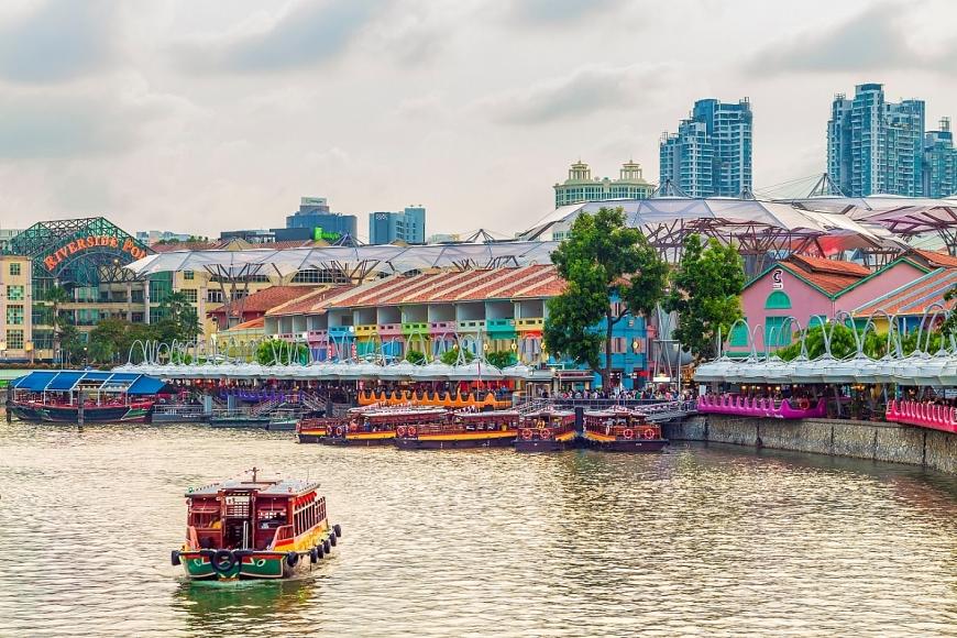 Các đô thị thịnh vượng trên thế giới thường gắn liền với dòng sông.